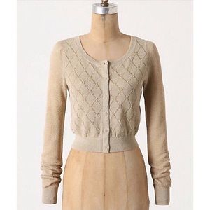 ✨Moth Cropped Knit Cardigan